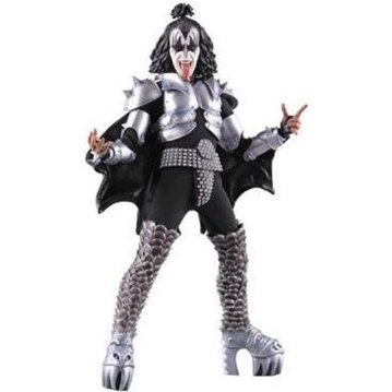 Real Action Heroes No. 473 Pre-Painted PVC Action Figure: KISS Gene Simmons