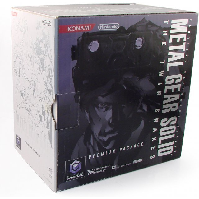 Game Cube Console - Metal Gear Solid The Twin Snakes Premium Package