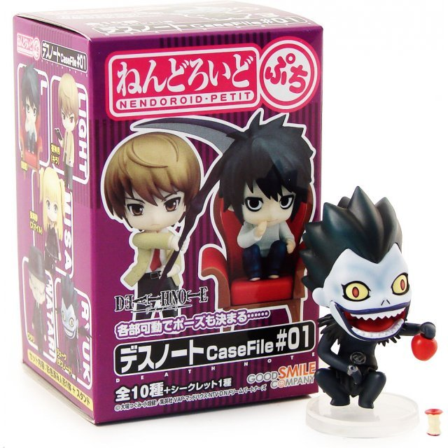 Nendoroid Petit Death Note Case File #01 Pre-Painted Trading Figure