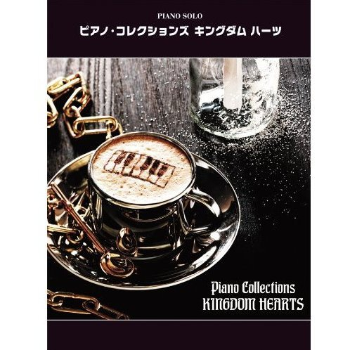 Piano Collections Kingdom Hearts Music Sheet Book