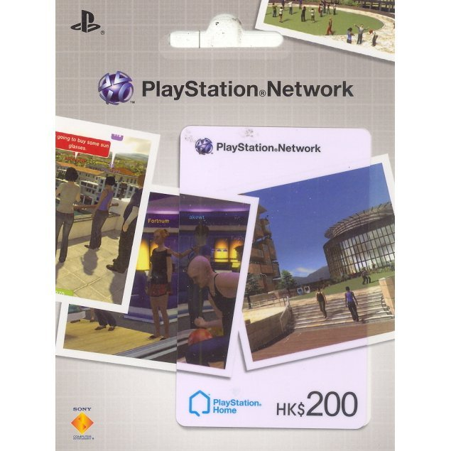 PlayStation Network Card / Ticket -PlayStation@Home- (200 HKD / for Hong Kong network only)