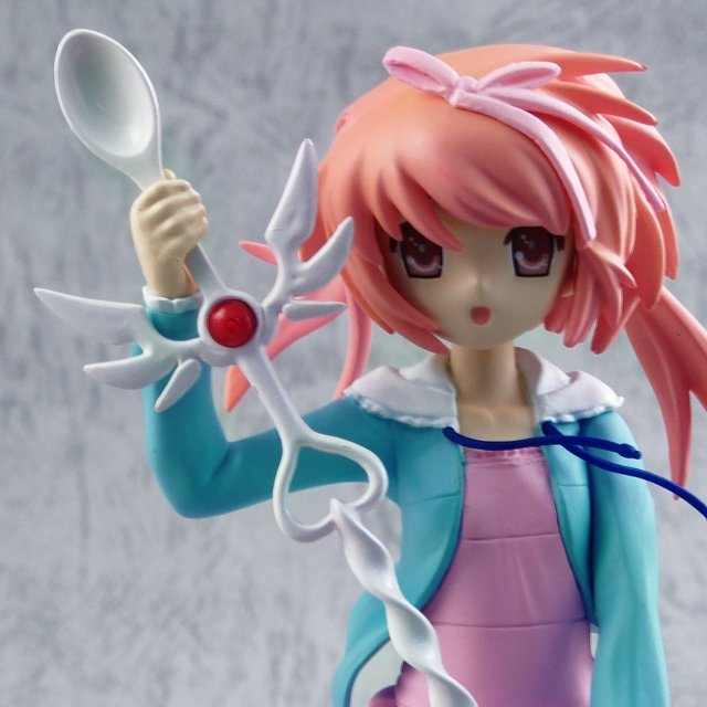 Nanatsuiro Dropps 1/8 Scale Pre-Painted PVC Figure: Akihime Sumomo (Blue and Pink Version)