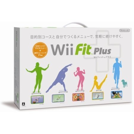 Wii Fit Plus (w/ Wii Board white)