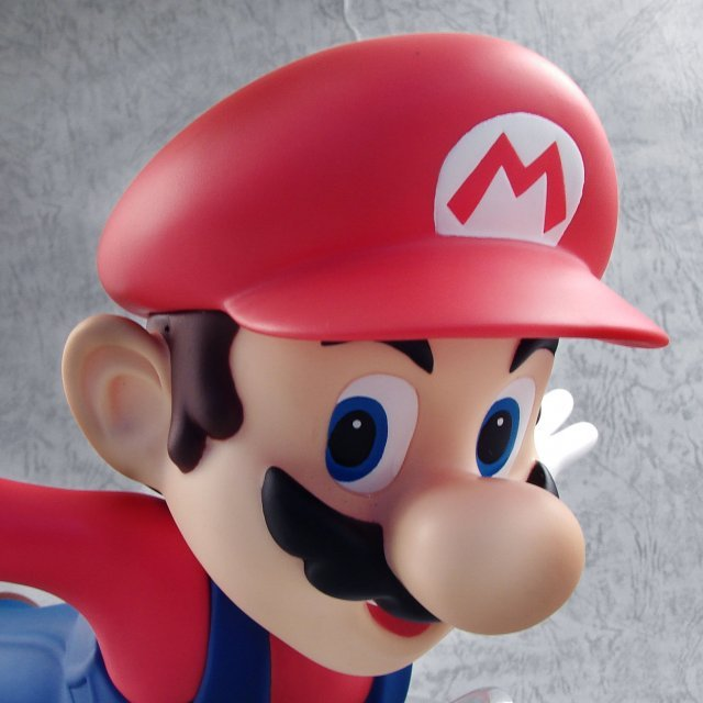 Super Mario Galaxy DX Figure 2 Pre-Painted Figure: Mario (Red Flying Version)