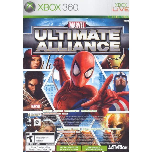 Forza Motorsport 2 + Marvel: Ultimate Alliance Bundle