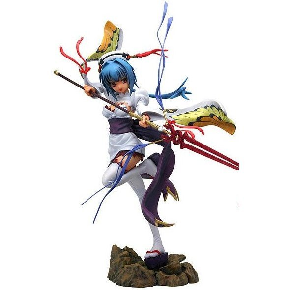 Marvelous Model Koihime Musou 1/8 Scale Pre-Painted PVC Figure: Choun Shiryu