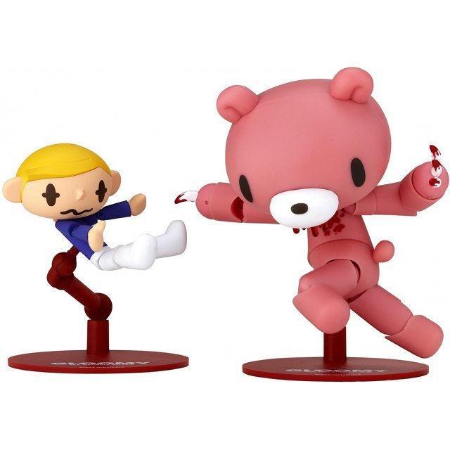 Revoltech Series No. 073 - Gloomy Pre-Painted PVC Figure: Gloomy Bear