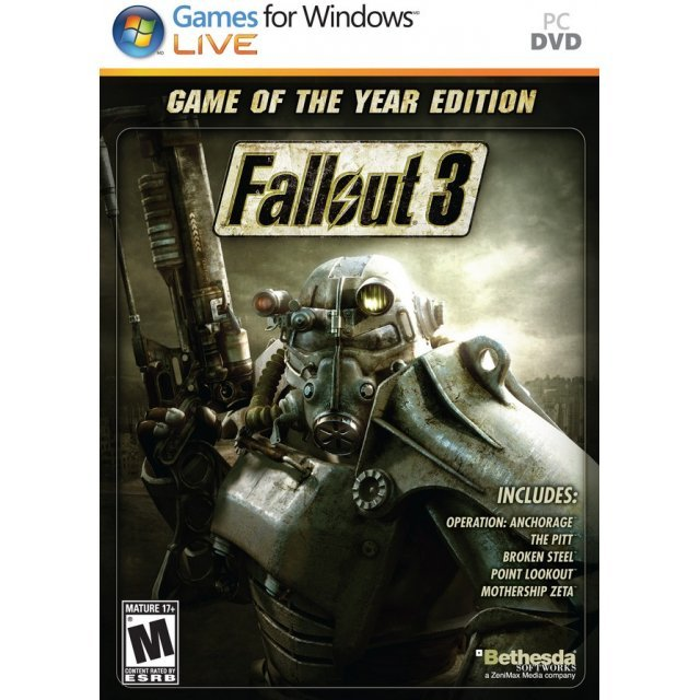 Fallout 3 (Game of the Year Edition) (DVD-ROM)