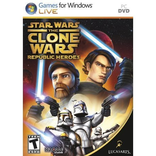 Star Wars the Clone Wars: Republic Heroes (DVD-ROM)