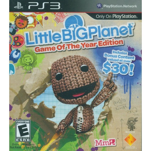 LittleBigPlanet (Game of the Year Edition)
