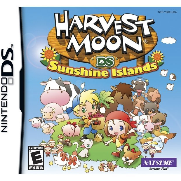 Harvest Moon Sunshine Islands Farm Degree Titles