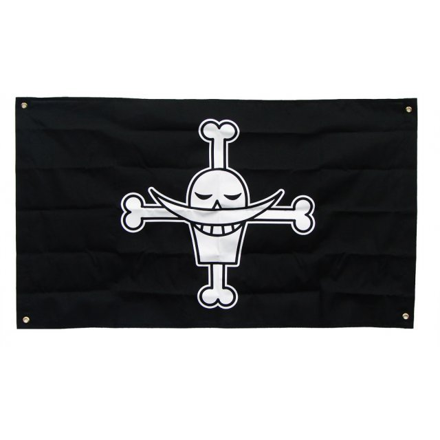 One Piece 10th Anniversary Pirate Flag: Shirahige Flag