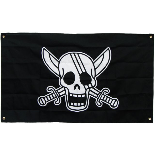 One Piece 10th Anniversary Pirate Flag: Red Head Flag