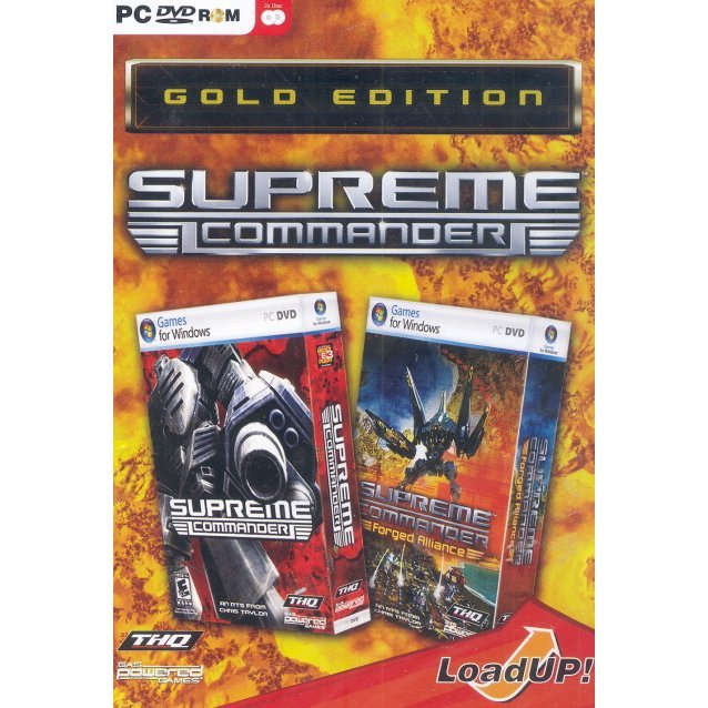 Supreme: Commander Gold Edition (DVD-ROM)