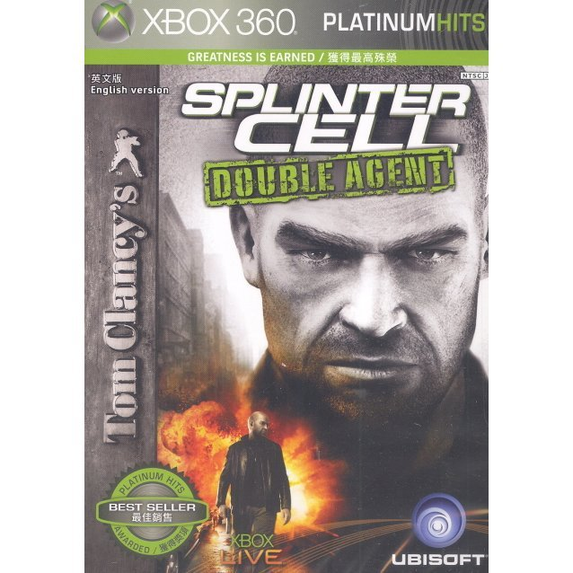 Tom Clancy's Splinter Cell: Double Agent (Platinum Hits)