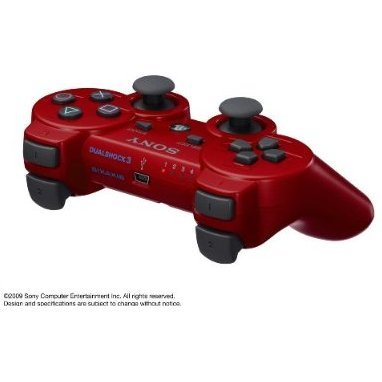 Dual Shock 3 (Deep Red)