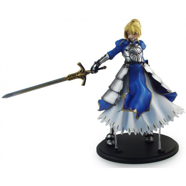 Fate/stay night 1/4 Scale Pre-Painted PVC Figure: Saber Real Arrange 003
