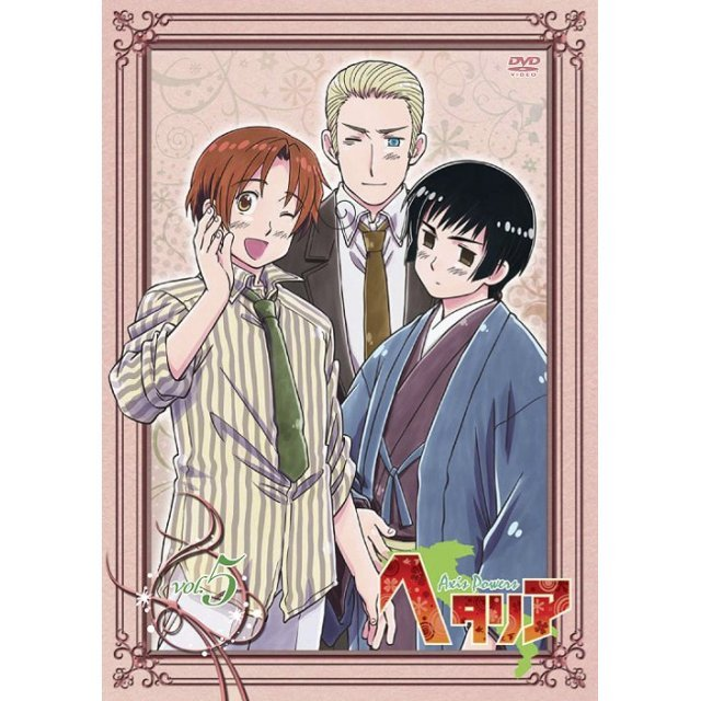 Hetalia Axis Powers Vol.5 [DVD+CD Limited Edition]