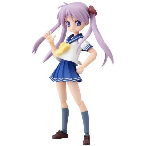 Lucky Star Non Scale Pre-Painted PVC Figure: figma Hiiragi Kagami
