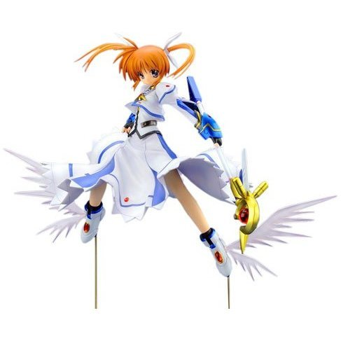 Magical Girl Lyrical Nanoha The Movie 1st 1/7 Scale Pre-Painted PVC Figure: Takamachi Nanoha Standby Version (Re-run)