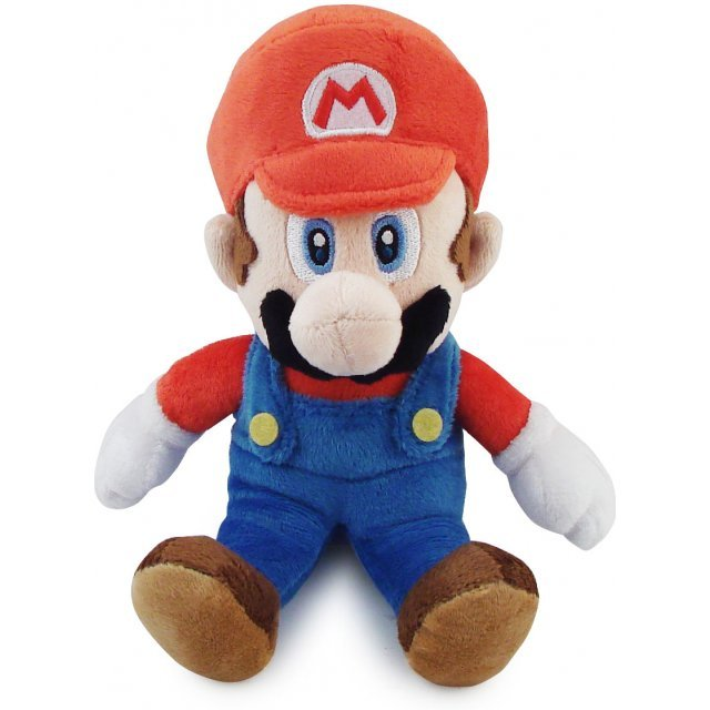 Super Mario Plush Series Plush Doll: Mario