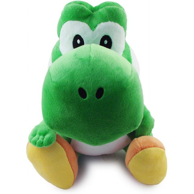 Super Mario Plush Series Plush Doll: Yoshi (Medium Size)