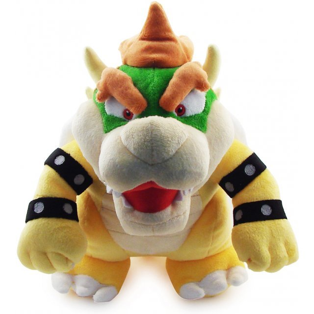 Super Mario Plush Series Plush Doll: Bowser Jr. (Small Size)