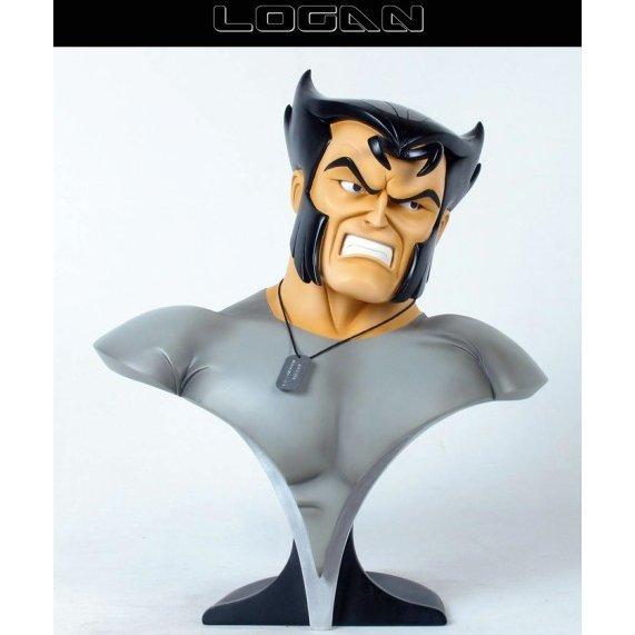 Wolverine And The X-Men Animated Series 1/2 Scale - Logan Bust