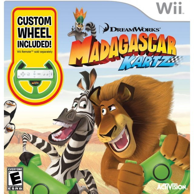 Madagascar: Kartz (w/ Wheel)