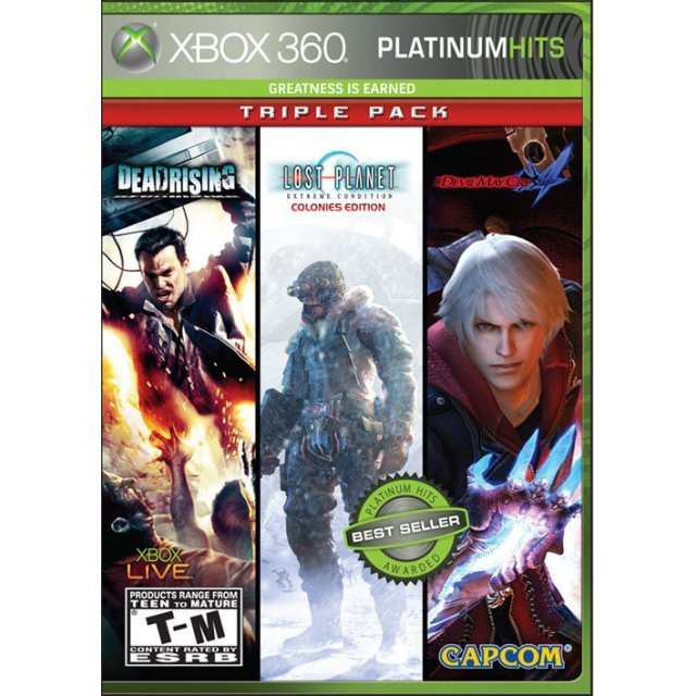 Capcom Triple Pack - Dead Rising, Lost Planet: Extreme Condition Colonies Edition, Devil May Cry 4 (Platinum Hits)