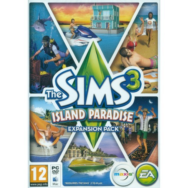 The Sims 3: Island Paradise (DVD-ROM)