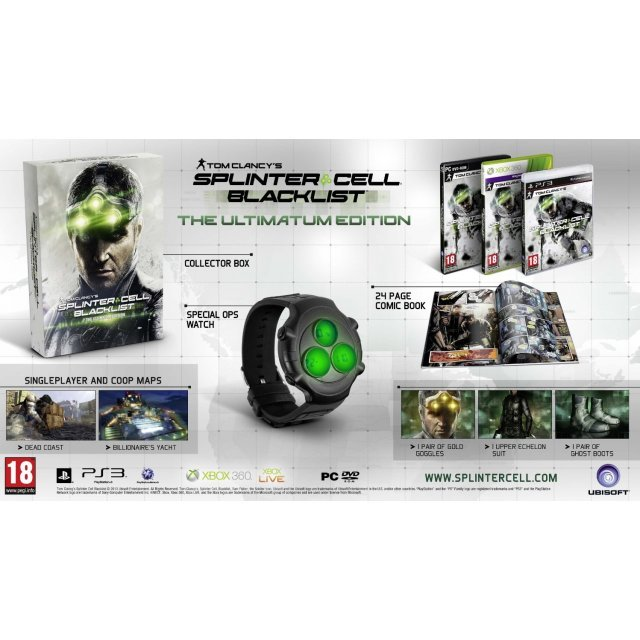 Tom Clancy's Splinter Cell: Blacklist (Ultimatum Edition) (DVD-ROM)
