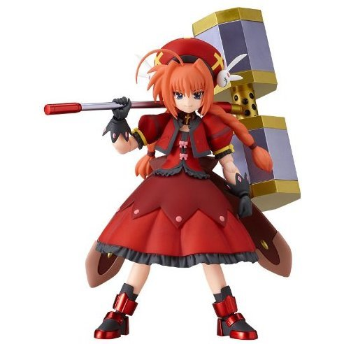 Magical Girl Lyrical Nanoha Striker S Non Scale Pre-Painted PVC Figure: figma Vita (Knight Version)