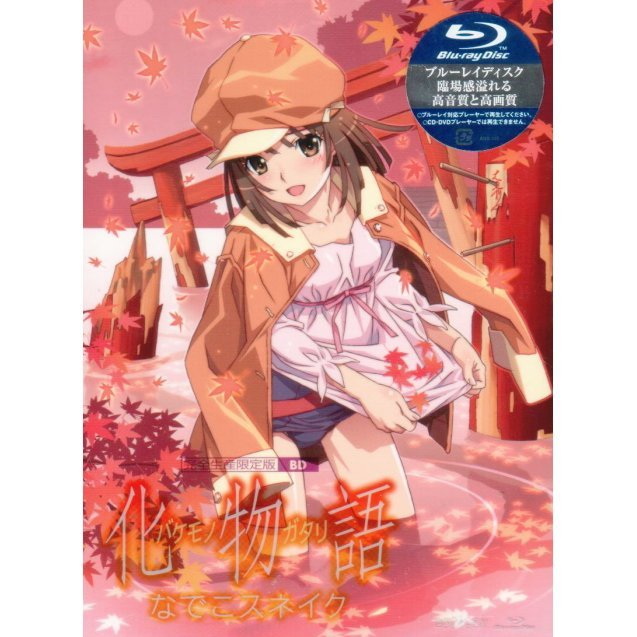 Bakemonogatari Vol.4 Nadeko Snake [Blu-ray+CD Limited Edition]
