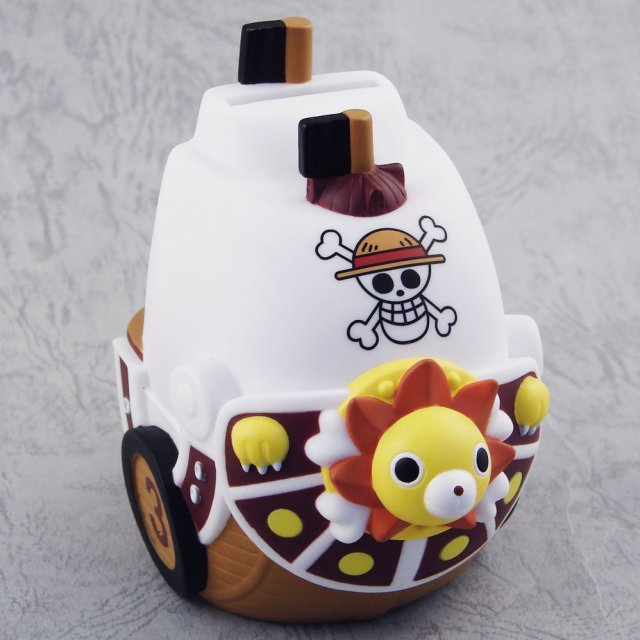 One Piece Money Bank Figure: Thousand Sunny Ship