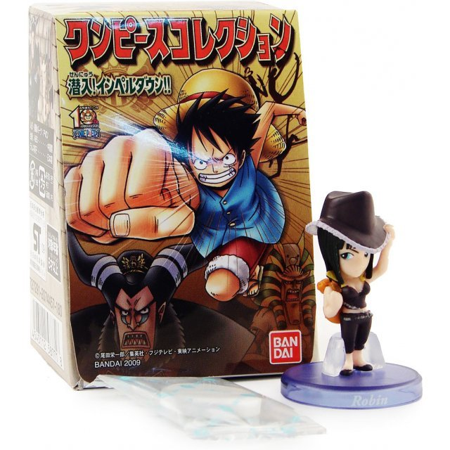 One Piece Impel Down Collection Pre-Painted Candy Toy Figure