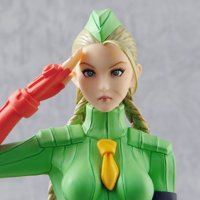 Capcom Girls Collection Street Fighter Zero 1/6 Scale Pre-Painted PVC Figure: Cammy (Limited Version)
