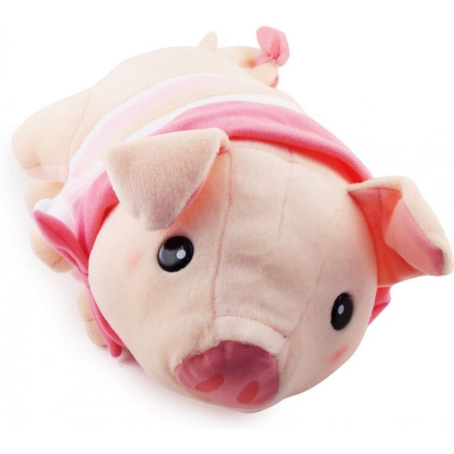 Monster Hunter Super DX Pugi Plush Doll Version B (Pink)