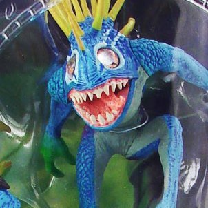 World of Warcraft Series 4 Pre-Painted Figure: Fish-Eye & Gibbergill