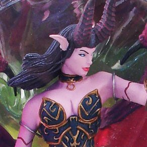 World of Warcraft Series 4 Pre-Painted Figure: Amberlash