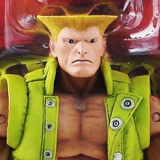 Street Fighter IV Series 2 Action Figure: Guile (Exclusive Version)