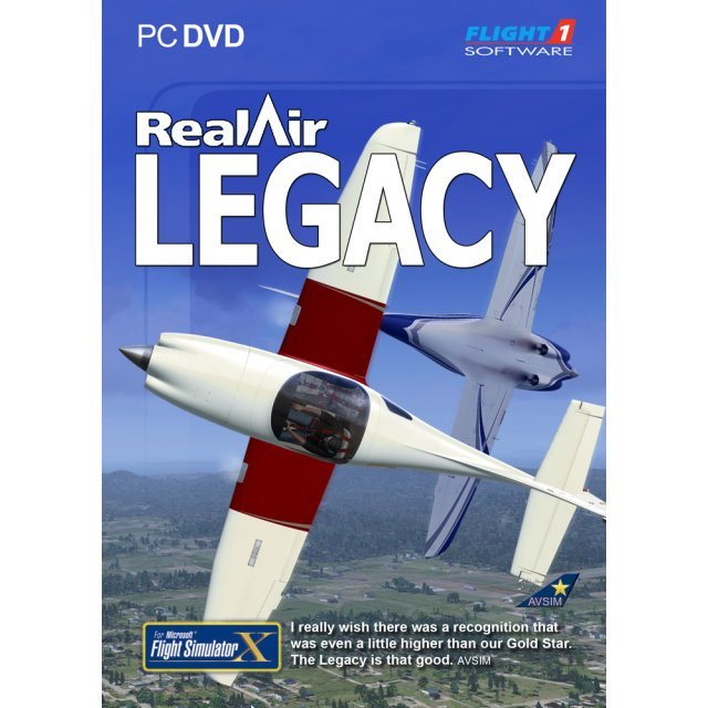 RealAir Legacy for FSX (DVD-ROM)