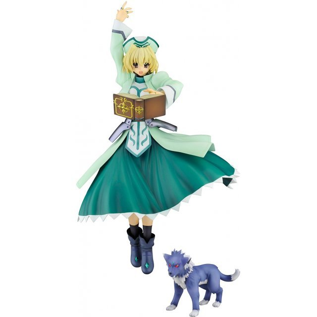 Magical Girl Lyrical Nanoha Striker S 1/7 Scale Pre-Painted PVC Figure: Shamal & Zafila Puppy