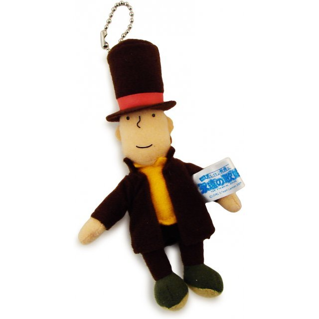 Layton Kyouju Key Chain Plush Doll: Professor Layton (Mini)