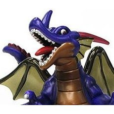 Dragon Quest Pre-Painted Soft Vinyl Figure: 01 King Dragon (Metallic Version)