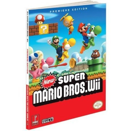 New Super Mario Bros. Wii Prime Official Game Guide