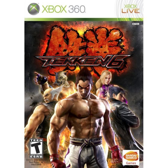 Tekken 6 (Case Broken)