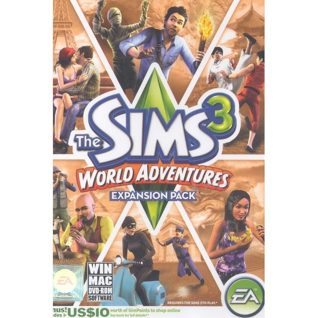 The Sims 3 World Adventures (DVD-ROM)