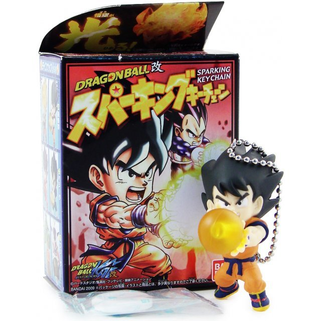 Dragon Ball Kai Led Light Key Chain Candy Toy