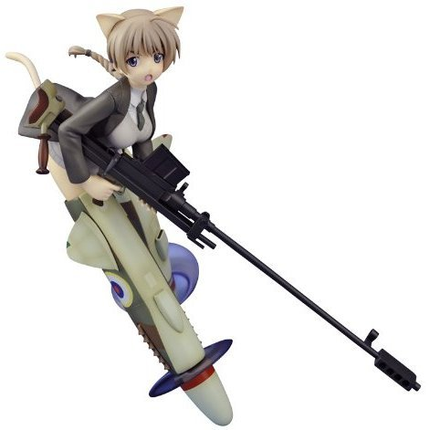 Strike Witches 1/8 Scale Pre-Painted PVC Figure: Lynette Bishop